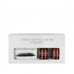 Three For You And Me - Body Wonder Towel - Rosemary + Pine 100 ml