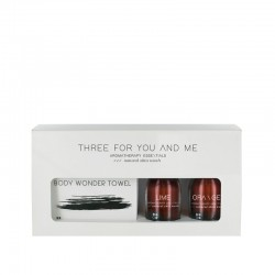 Three For You And Me - Body Wonder Towel - Lime + Orange 100 ml